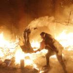 برخورد نیروهای امنیتی لبنان با معترضان در بیروت به خشونت کشیده شد