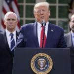 پرزیدنت ترامپ برای مقابله با بیماری کرونا، در آمریکا وضعیت اضطراری اعلام کرد