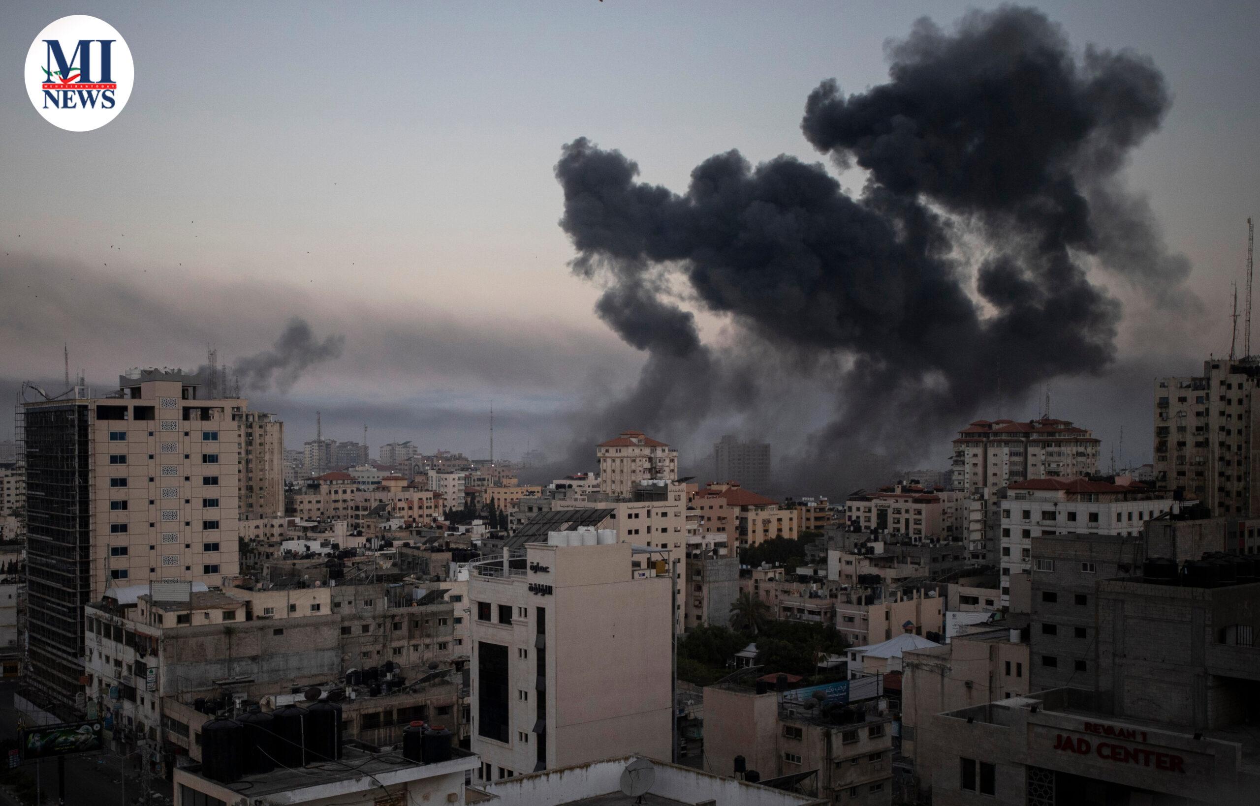 ادامه درگیری فلسطینی ها و اسرائيل: دست کم ۶۵ نفر در غزه و ۶ نفر در اسرائیل کشته شدند